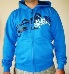 Pánská mikina Funstorm Bevan blue