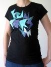 Dámské tričko Funstorm Corte black